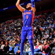 Brooklyn Nets V Detroit Pistons Art Print