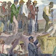 Civil War: Slavery, 1863 Art Print