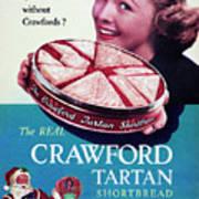 Crawford Tartan Shortbread Art Print