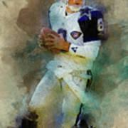 Dallas Cowboys.troy Kenneth Aikman Art Print