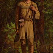 Davy Crockett Art Print