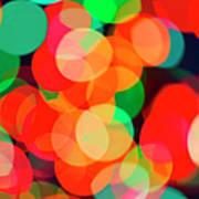 Defocused Lights Art Print
