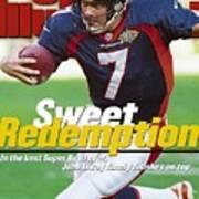 Denver Broncos Qb John Elway, Super Bowl Xxxii Sports Illustrated Cover Art Print