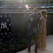 Derek Jeter Ceremony Art Print