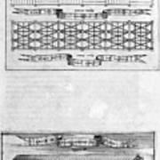 Description Of The Ark, 1675. Artist Art Print