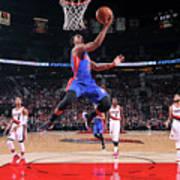 Detroit Pistons V Portland Trail Blazers Art Print