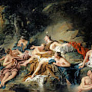 Diana And Actaeon Art Print