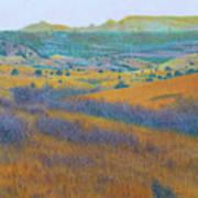 Dream Of West Dakota Art Print