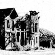 Elkhorn Ghost Town Montana Art Print