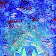 Enlightenment Blue Art Print