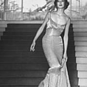 Evening Dress Designed By A California D Art Print