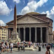 Fontana Del Pantheon Art Print