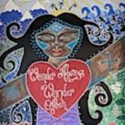 Goddess Of Wonder Art Print