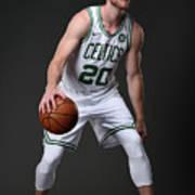 Gordon Hayward Boston Celtics Portraits Art Print