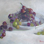 Greek Grapes Art Print