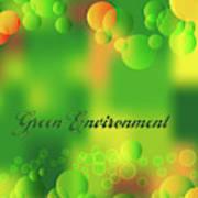 Green Environment Art Print