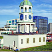 Halifax Town Clock 2017 Art Print