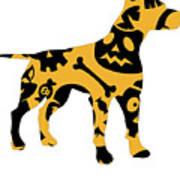 Halloween Dogg Art Print