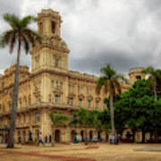 Havana's Palacio Del Centro Asturiano Art Print