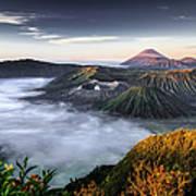 Indonesia Mount Bromo Art Print