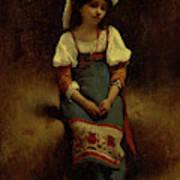 Italian Woman Art Print