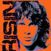 Jim Morrison, The Doors Art Print