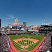 Kansas City Royals V Cleveland Indians Art Print