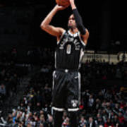 La Clippers V Brooklyn Nets Art Print