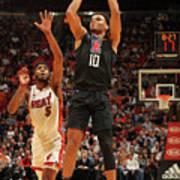 La Clippers V Miami Heat Art Print