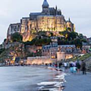 Le Mont Saint Michel, Normandy, France Art Print