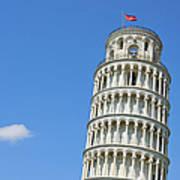 Leaning Tower Of Pisa Art Print