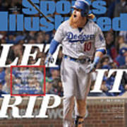 Let It Rip 2017 World Series Preview Issue Sports Illustrated Cover Art Print