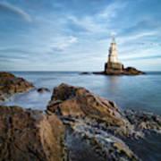 Lighthouse In Ahtopol, Bulgaria Art Print