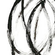 Linear Expression Ix Art Print