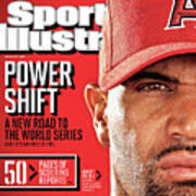 Los Angeles Angels Of Anaheim Albert Pujols, 2012 Mlb Sports Illustrated Cover Art Print