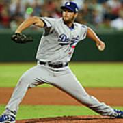 Los Angeles Dodgers V Arizona 1 Art Print