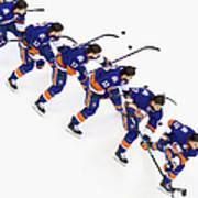 Los Angeles Kings V New York Islanders Art Print