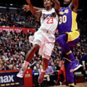 Los Angeles Lakers V La Clippers Art Print