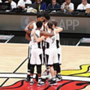 Los Angeles Lakers V Miami Heat Art Print