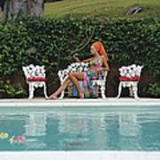 Lounging In Bermuda Art Print