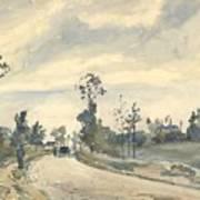Louveciennes  Route De Saint   Germain  Art Print