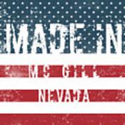 Made In Mc Gill, Nevada Art Print