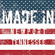 Made In Newport, Tennessee Art Print