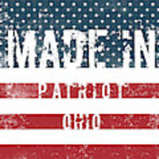 Made In Patriot, Ohio Art Print