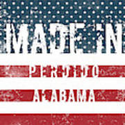 Made In Perdido, Alabama Art Print