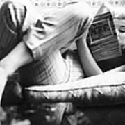 Marilyn Candid Moment Art Print