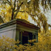 Mausoleum In Georgia Art Print