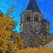 Medieval Bell Tower 6 Art Print