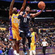 Memphis Grizzlies V Los Angeles Lakers Art Print