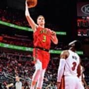 Miami Heat V Atlanta Hawks Art Print